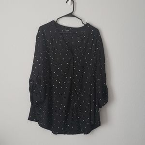 Torrid long sleeve blouse
